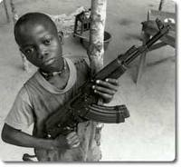 Mozambique Child soldier
